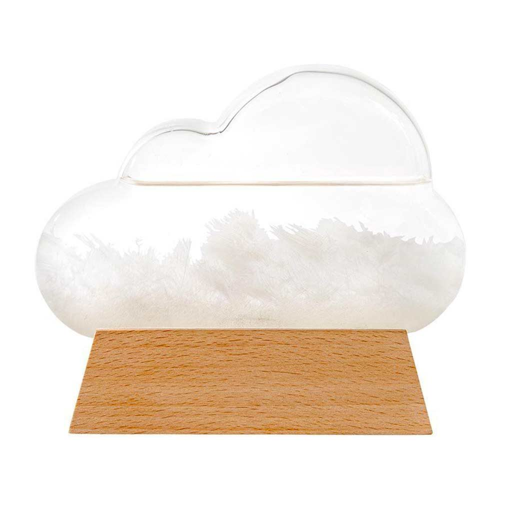Cloud Storm Glass WeatherStation by ISgift | The Design Gift Shop