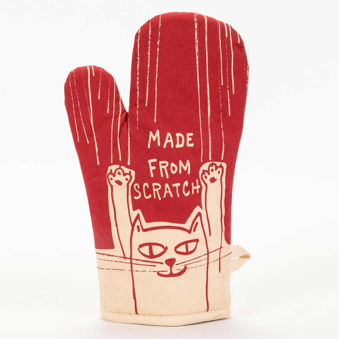 Made From Scratch - (Front) - One Oven Mitt by Blue Q | The Design Gift Shop