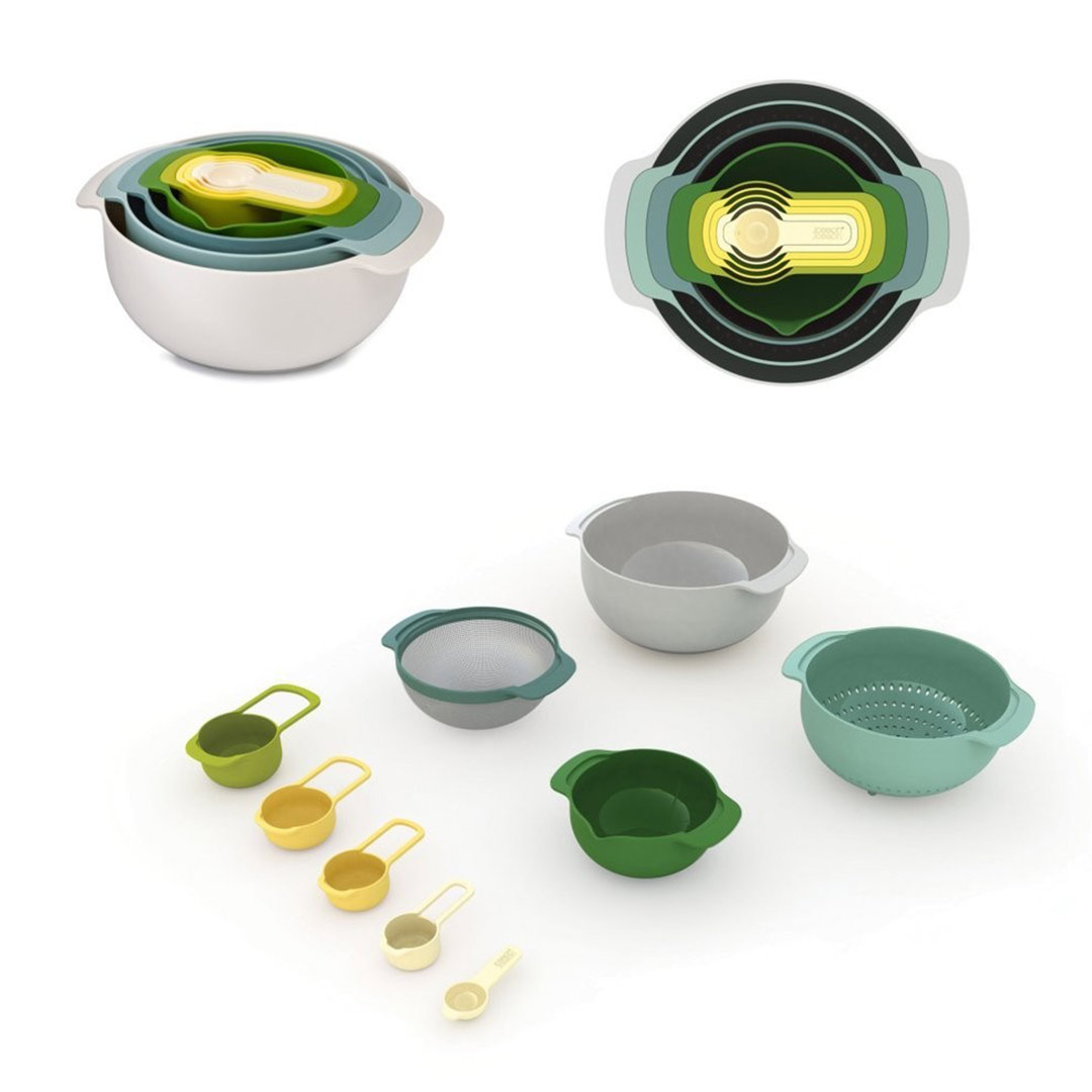 JOSEPH JOSEPH Nest 9 Plus food preparation set | The Design Gift Shop