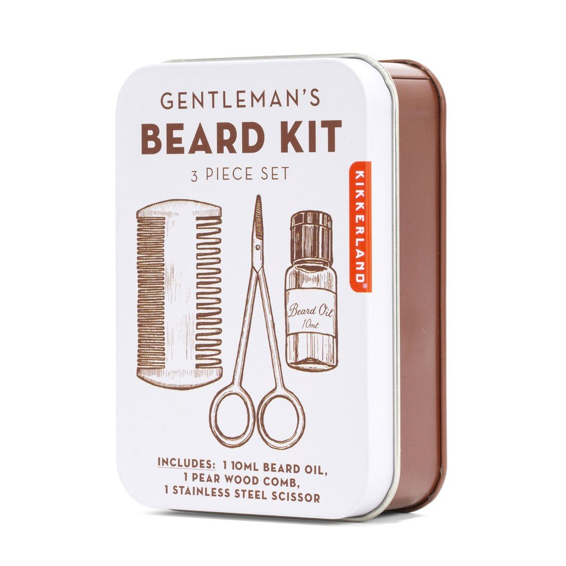 Kikkerland  Gentlemen's Beard Kit | The Design Gift Shop