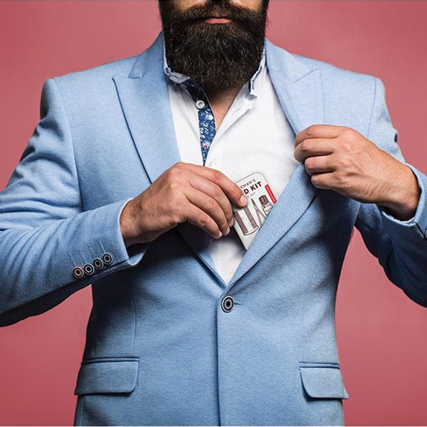 Kikkerland  Gentlemen's Beard Kit | The Design Gift Shop