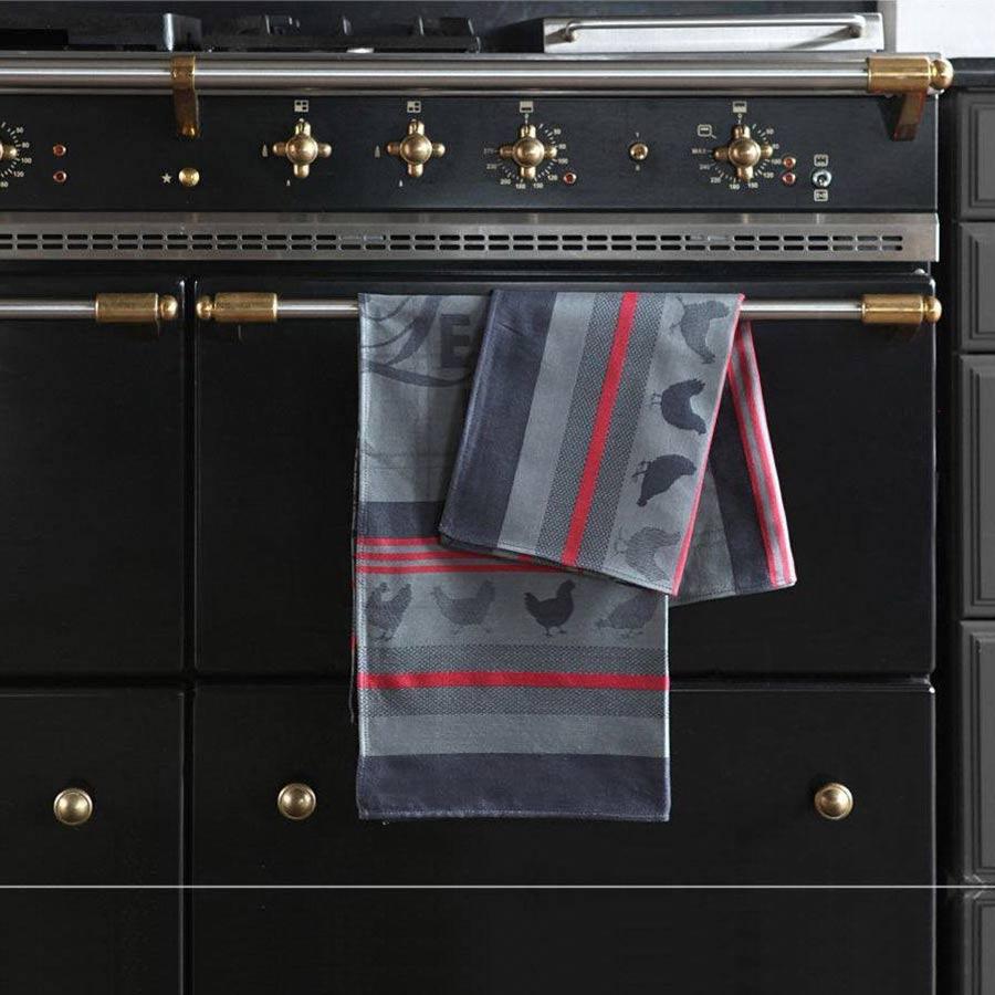 Kitchen Towel 'Arnaga Coq Basque' by Jean-Vier | The Design Gift Shop