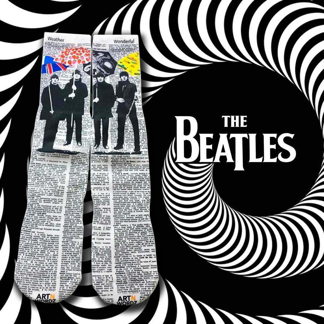 UMBEATLES socks by Art N Wordz (Front) | The Design Gift Shop