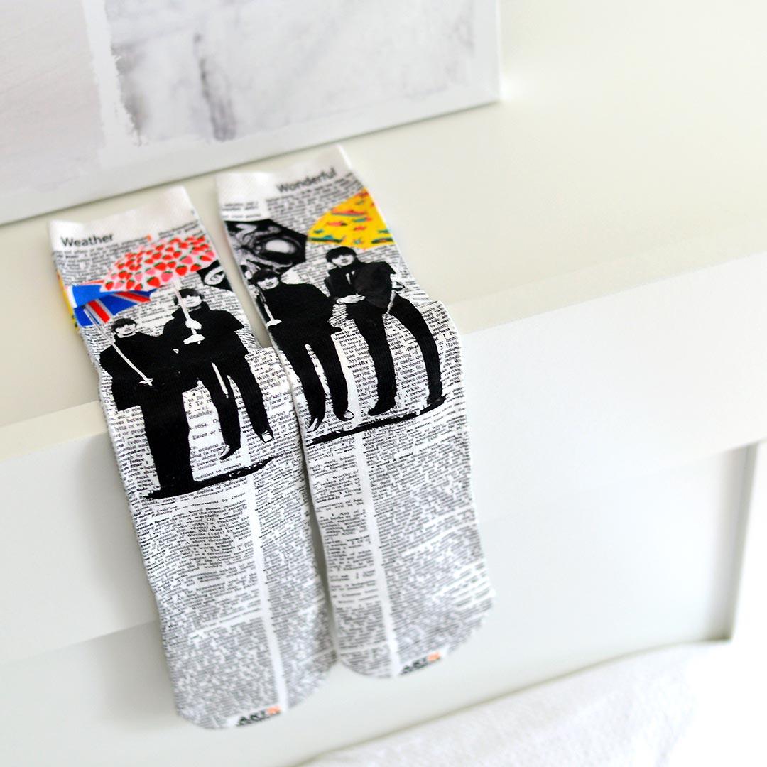 UMBEATLES socks by Art N Wordz | The Design Gift Shop