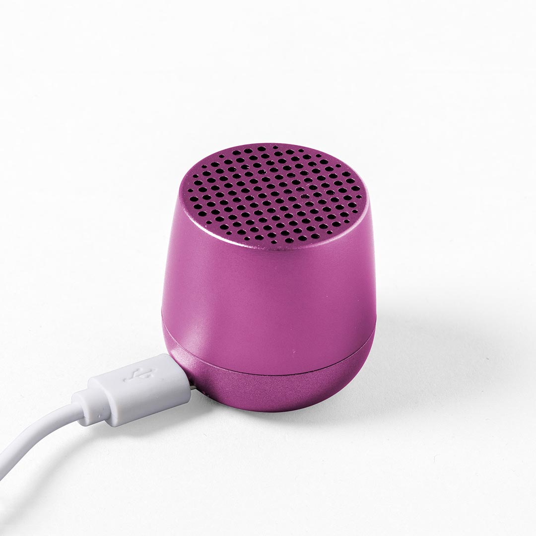 LEXON Mino Speaker LA113TF Purple | The Design Gift Shop
