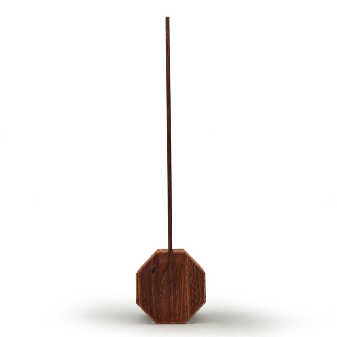 GINKGO Octagon One desk light Walnut | The Design Gift Shop