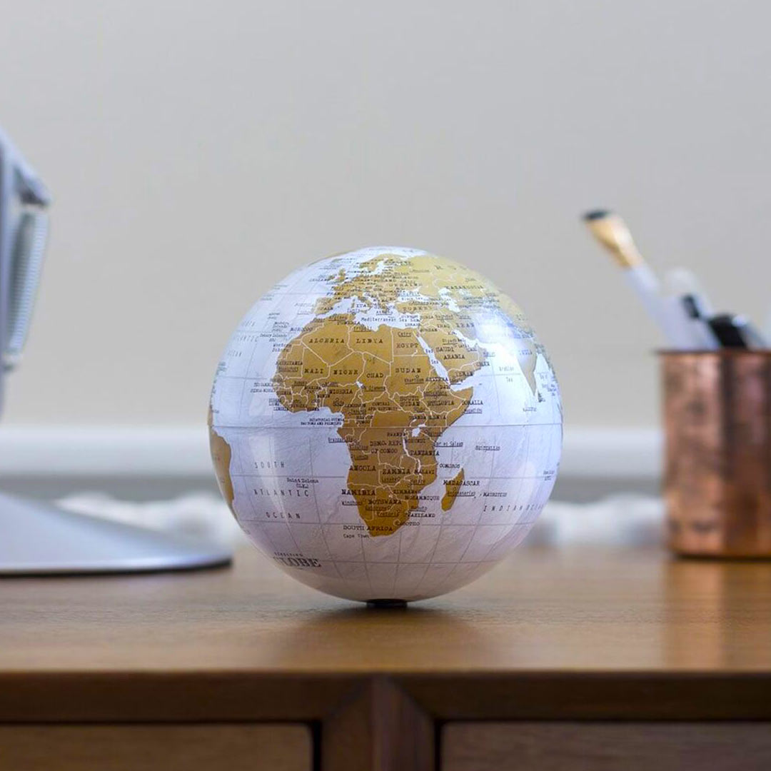 Luckies Revolving World Globe | The Design Gift Shop