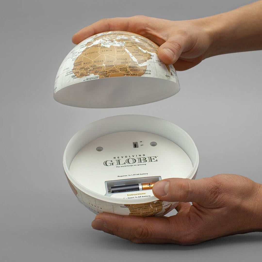 Luckies Revolving World Globe | the design gift shop