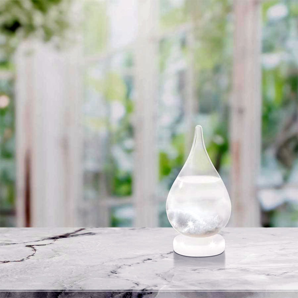Raindrop Storm Glass WeatherStation by ISgift | The Design Gift Shop