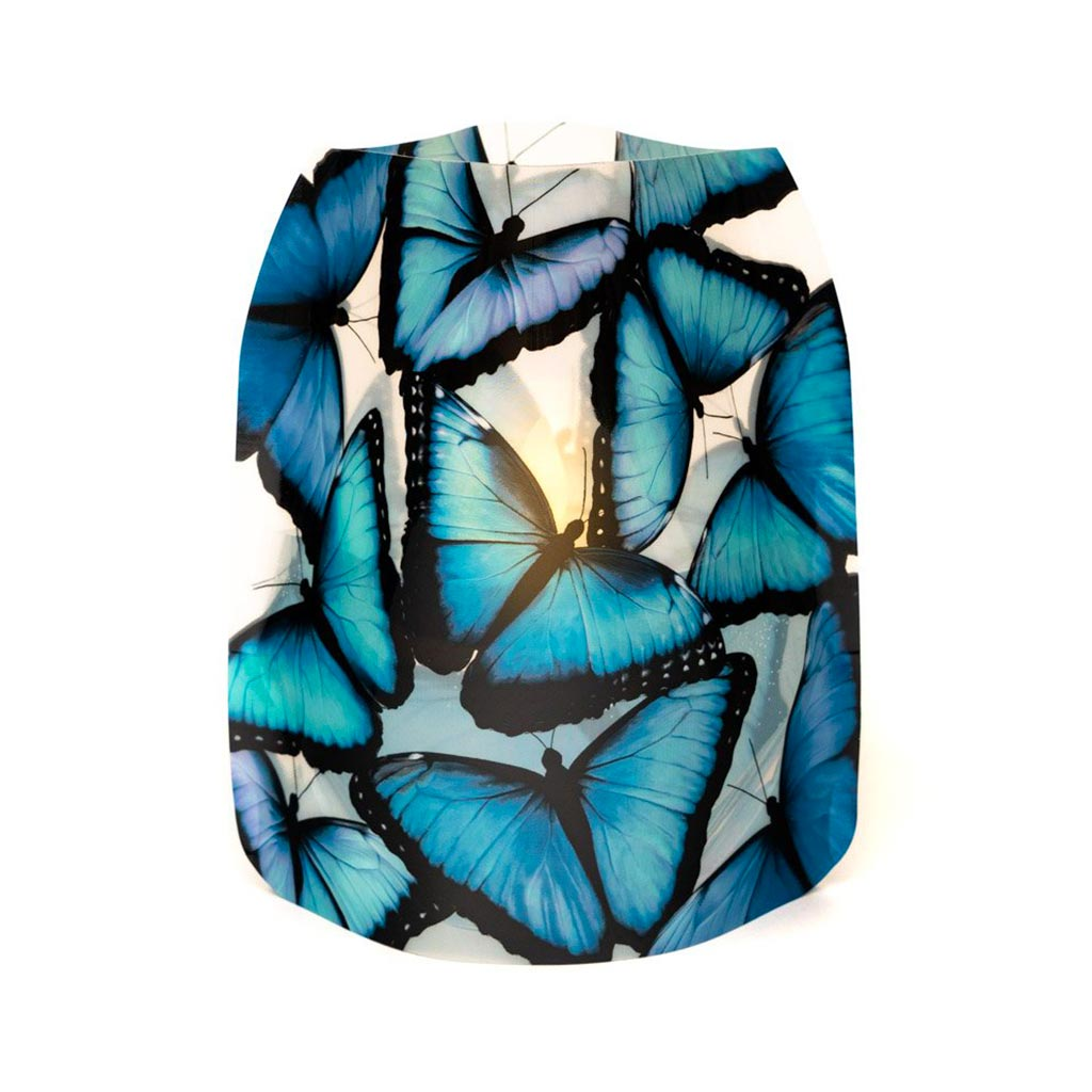 Blue Morpho Butterfly Luminaries (set of 4) | The Design Gift Shop