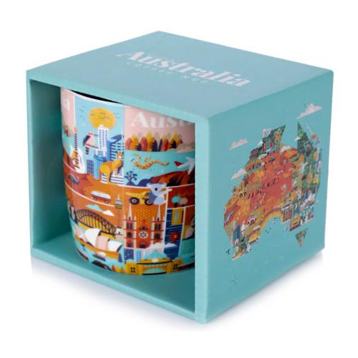 Australia Collection Tea or Coffee Mug | The Design Gift Shop