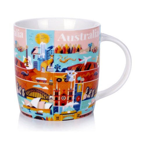Australia Collection Tea or Coffee Mug | The Design Gift Shop