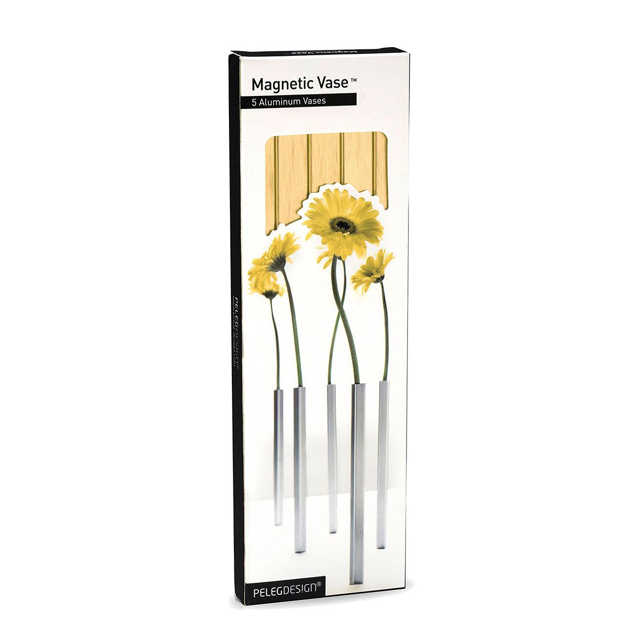 Magnetic Vase Set Gold | The Design Gift Shop