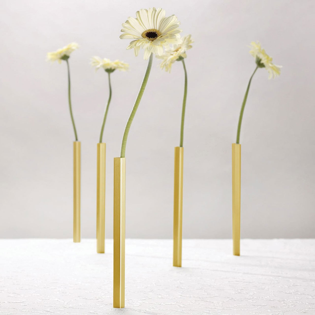 Magnetic Vase Set Gold | The Design Gift Shop
