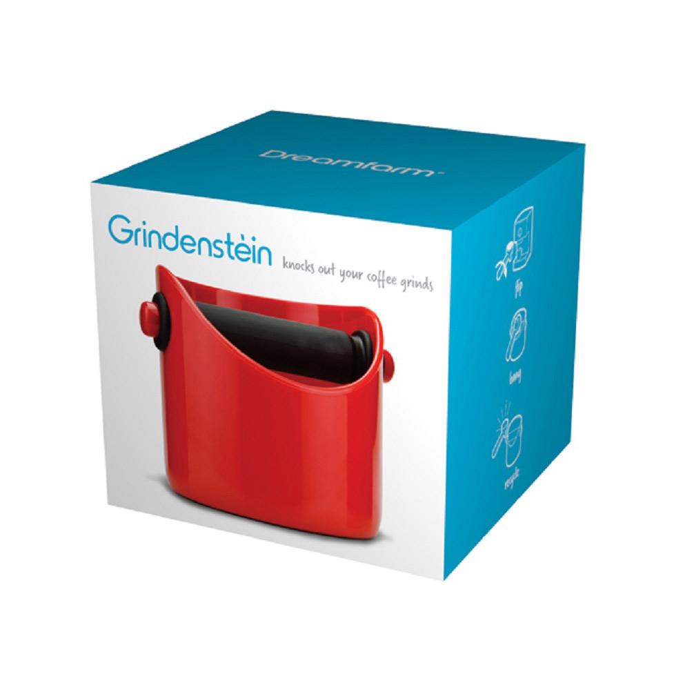 Dreamfarm Red Grindenstein Knock Box | The Design Gift Shop