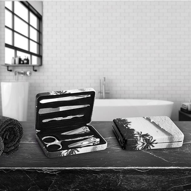 Monochrome Waves Manicure Set by ISgift | The Design Gift Shop