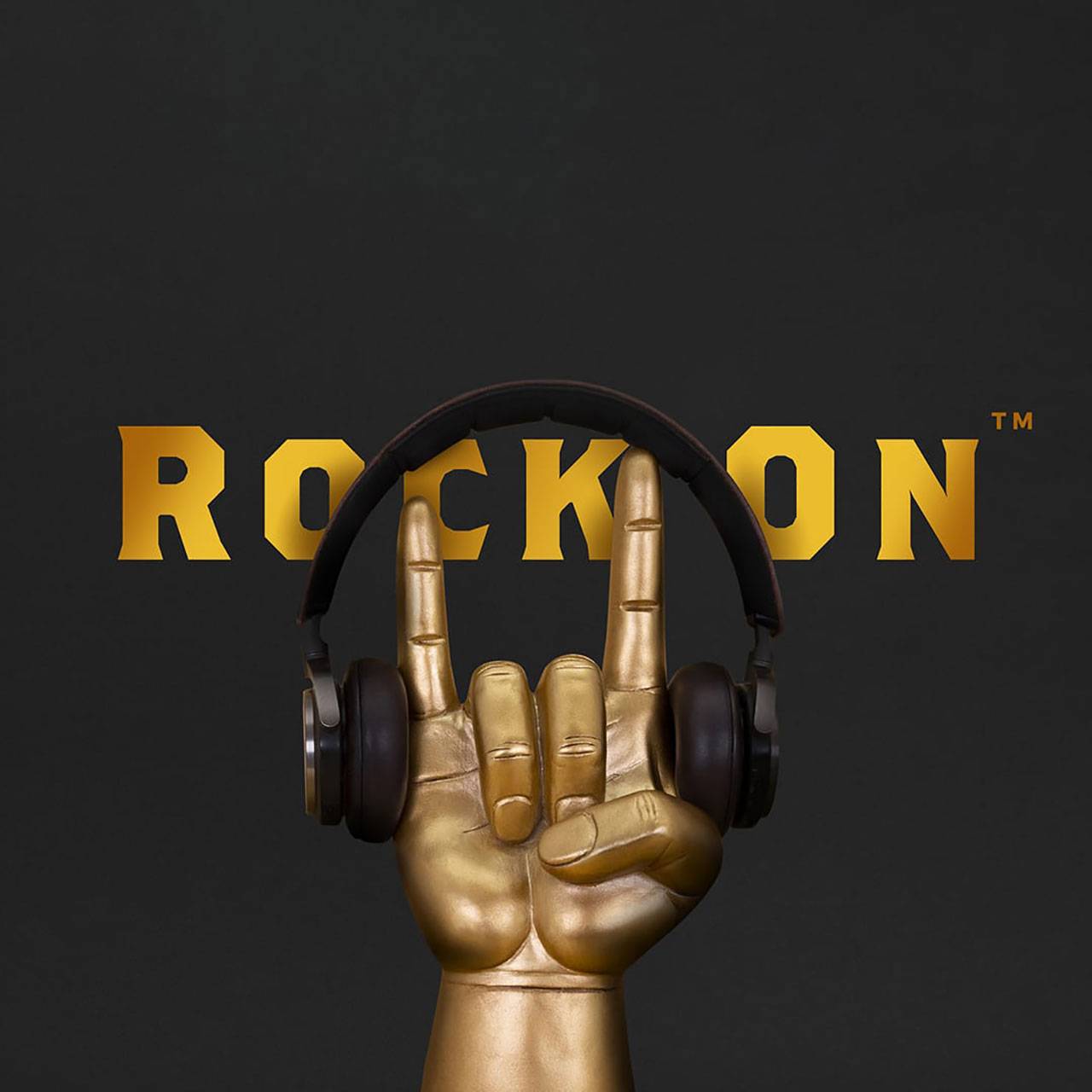 Headphone Stand Rock On by Luckies (headphones not included) | The Design Gift Shop