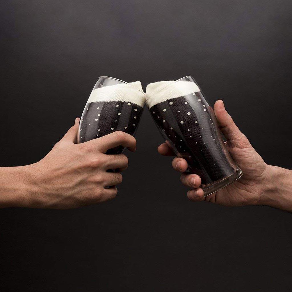 Luckies Men's Beer Socks | The Design Gift Shop