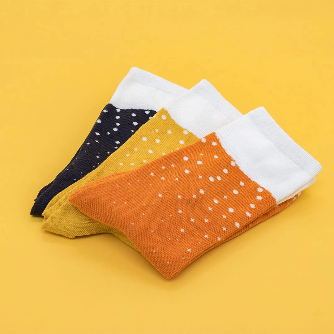 Luckies Men's Beer Socks 3 Pack | The Design Gift Shop