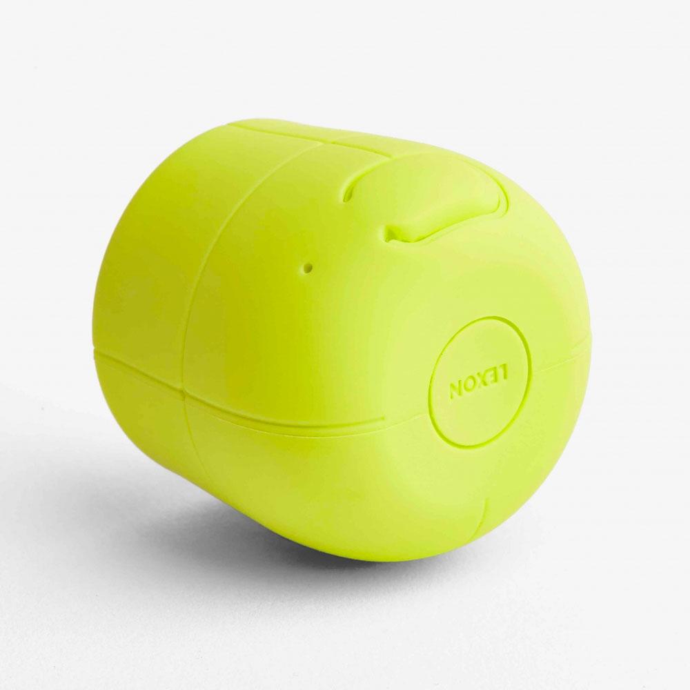 LEXON Mino X Speaker LA120Y9 Yellow | the design gift shop
