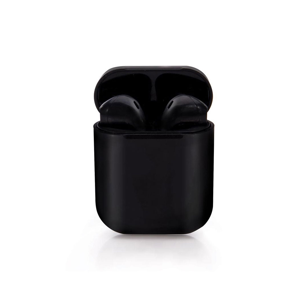 Black True Wireless Earbuds by ISgift | The Design Gift Shop