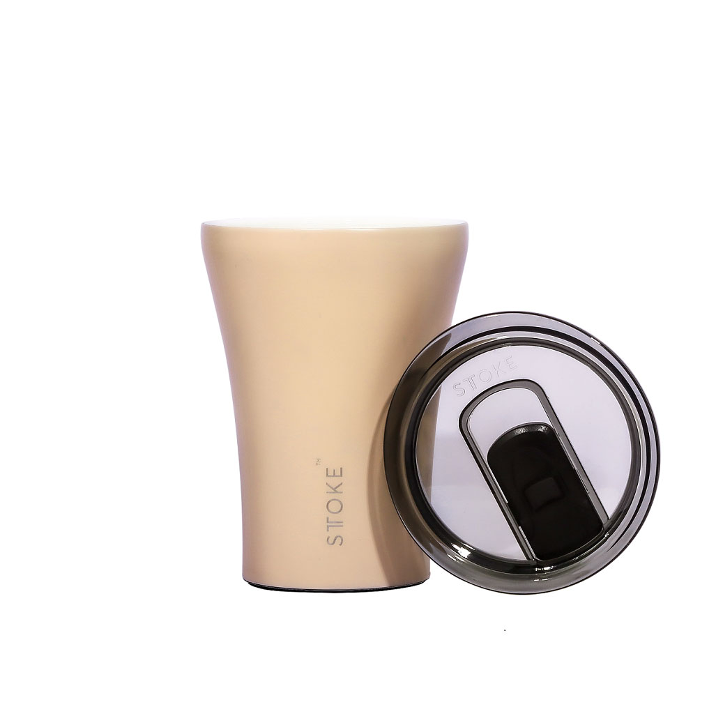 STTOKE Coffee Cup Ivory Chai | the design gift shop