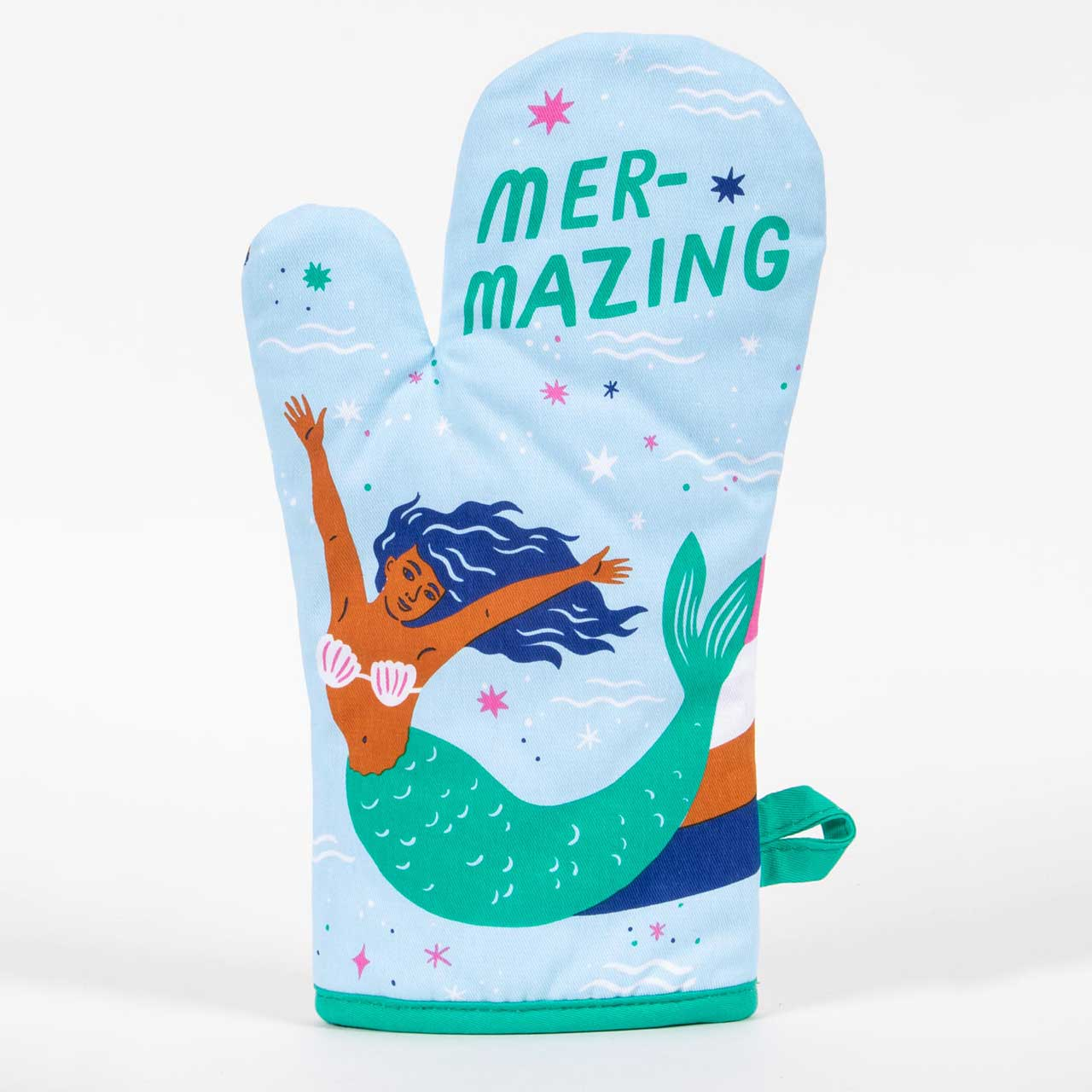 Mer-mazing - One Oven Mitt by Blue Q | The Design Gift Shop