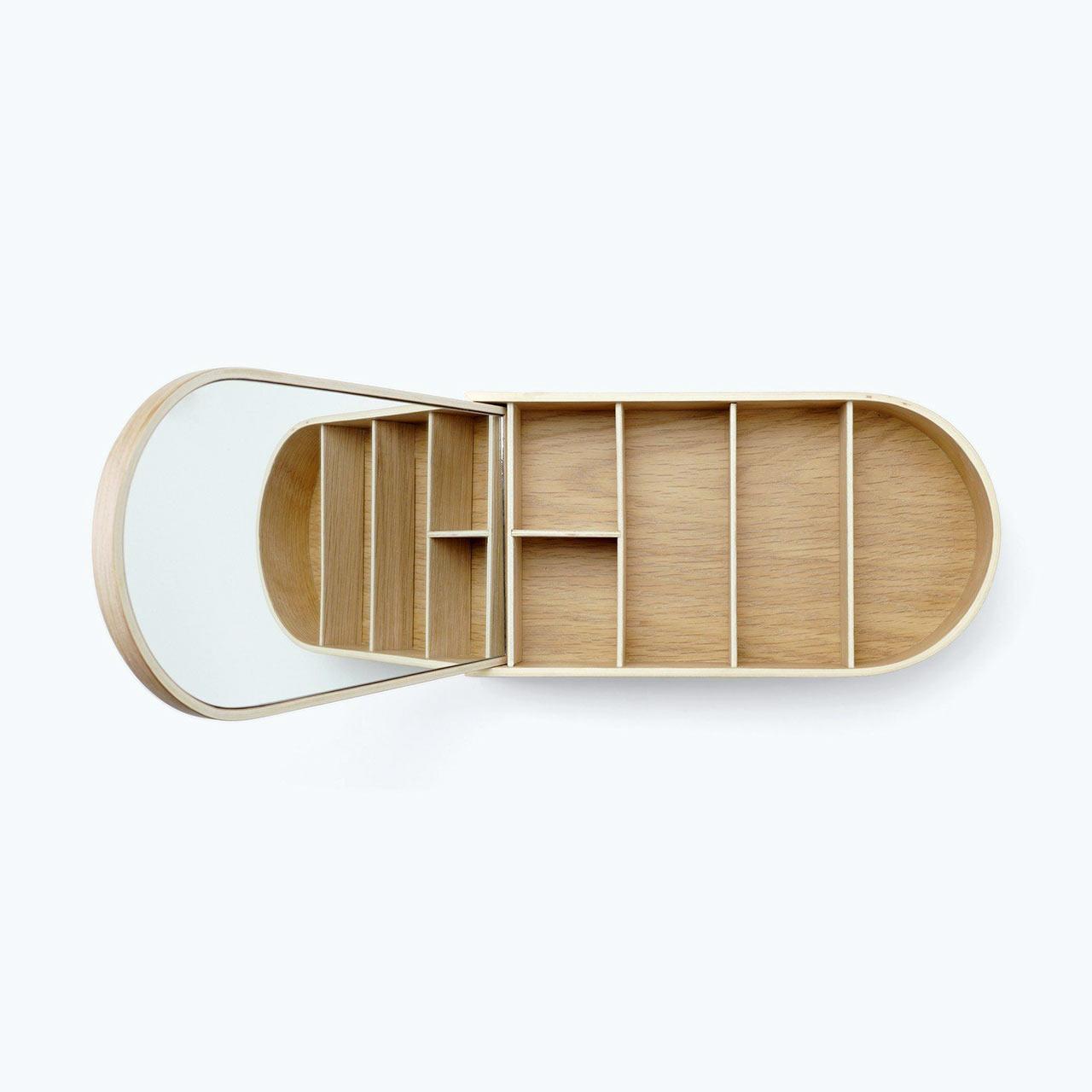Menu jewellery box white oak | the design gift shop