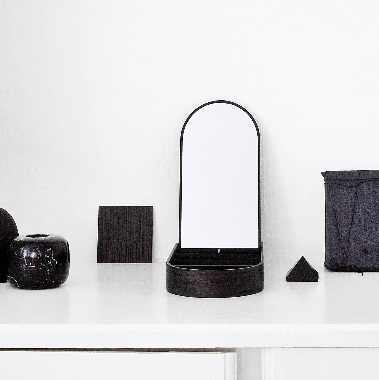 Menu jewellery box black ash | the design gift shop
