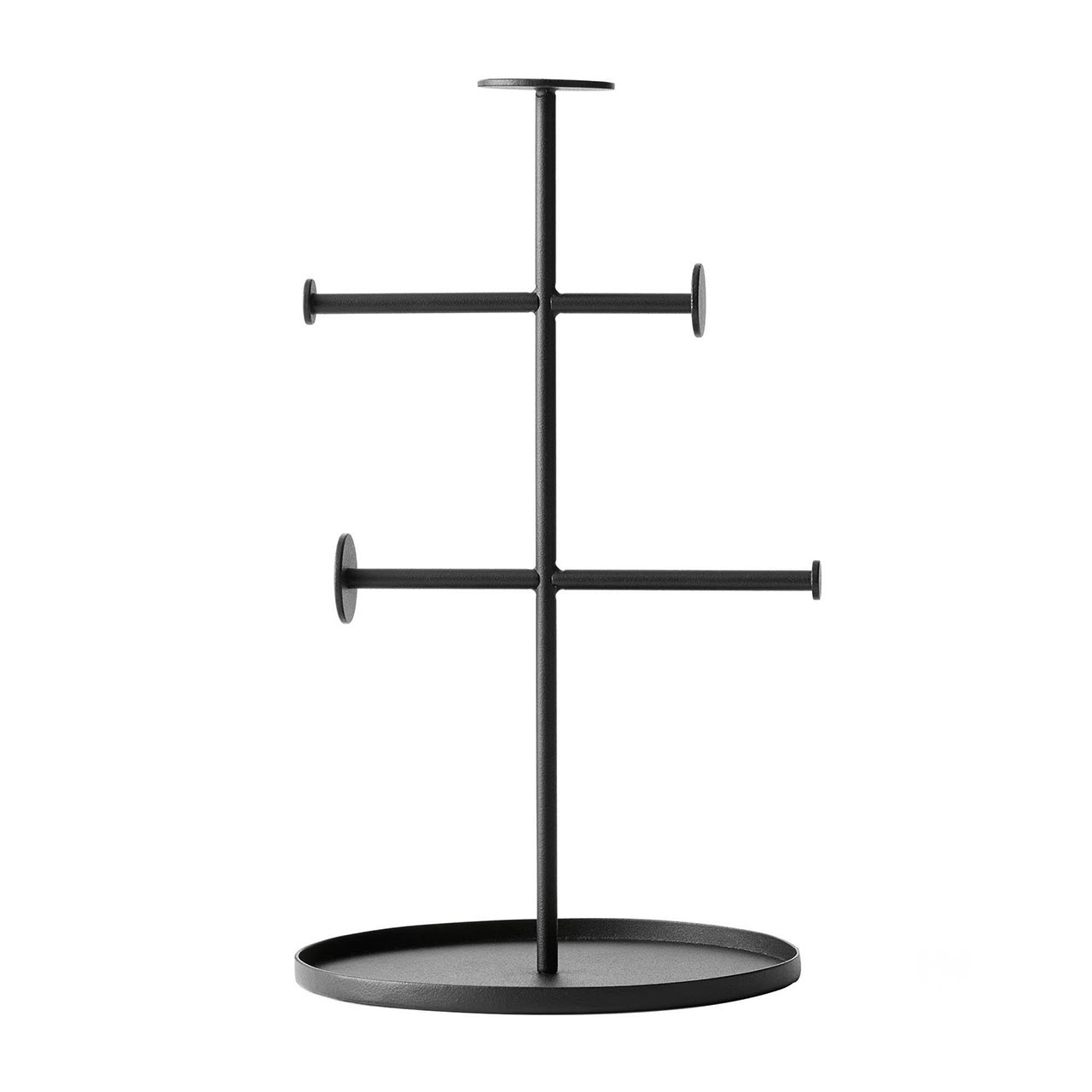 Menu Collector black jewellery stand | the design gift shop
