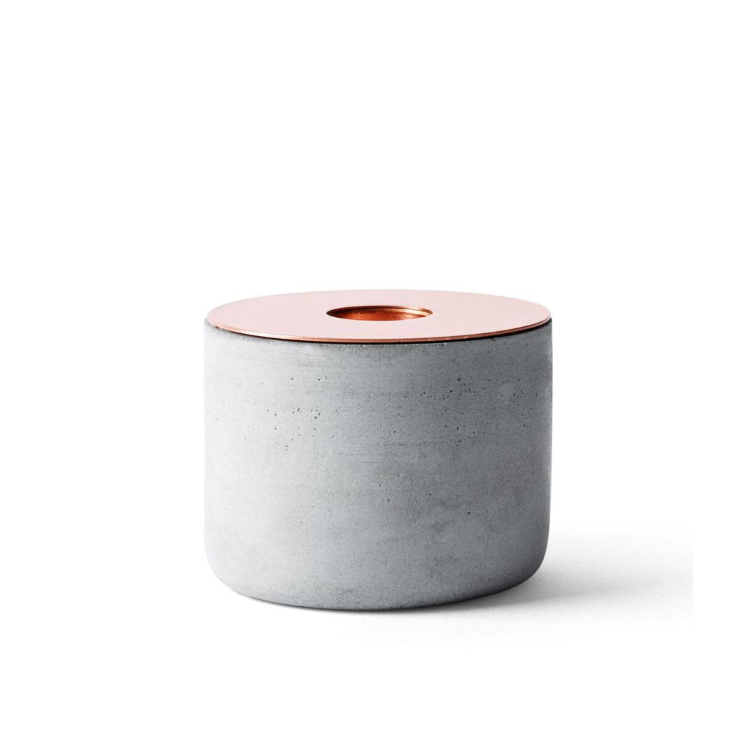 Menu Chunk of Concrete Candle Holder M | the design gift shop