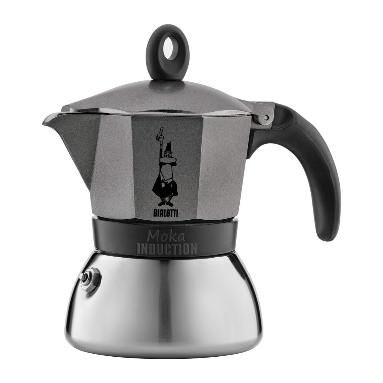 BIALETTI Moka Induction 3 Cup Espresso Coffee Maker | the design gift shop