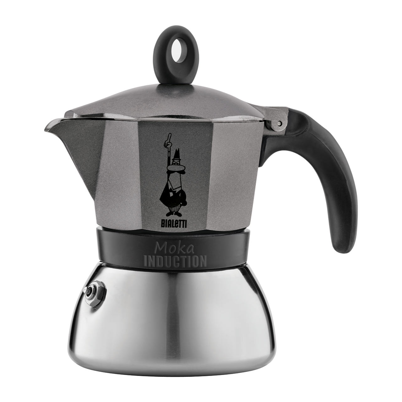 BIALETTI Moka Induction 3 Cup Espresso Coffee Maker | the design gift shop