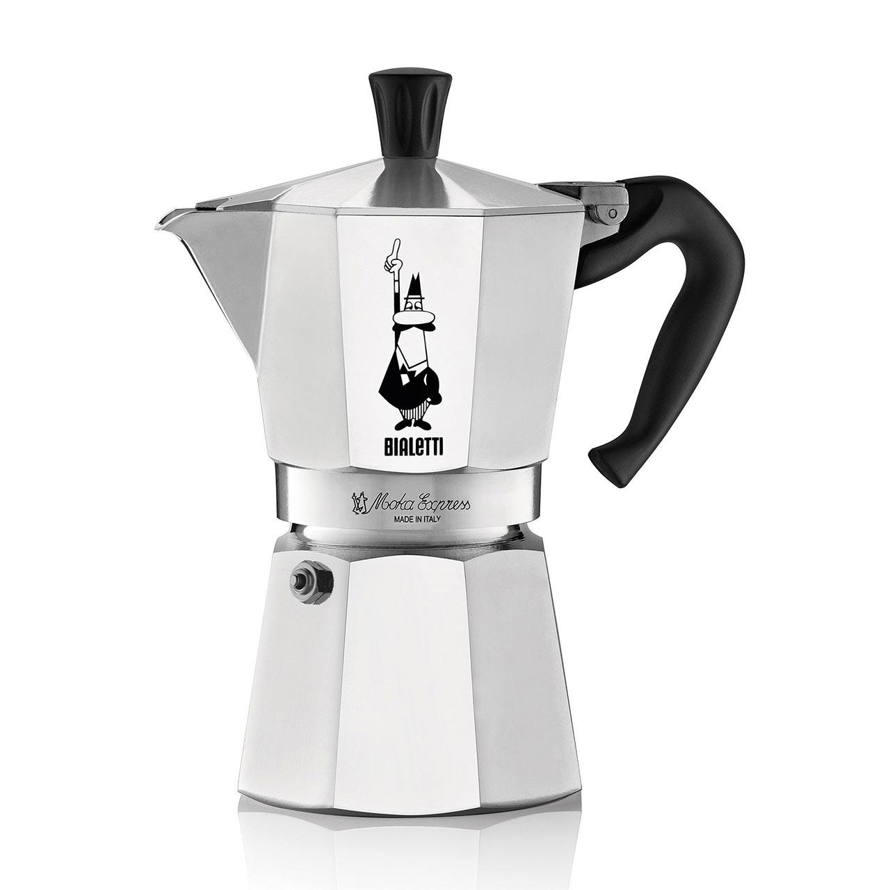 BIALETTI Moka Express 4 Cup Espresso Maker
