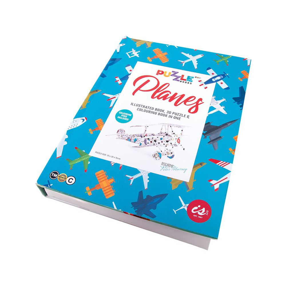 Planes Puzzle Books by ISgift | the design gift shop