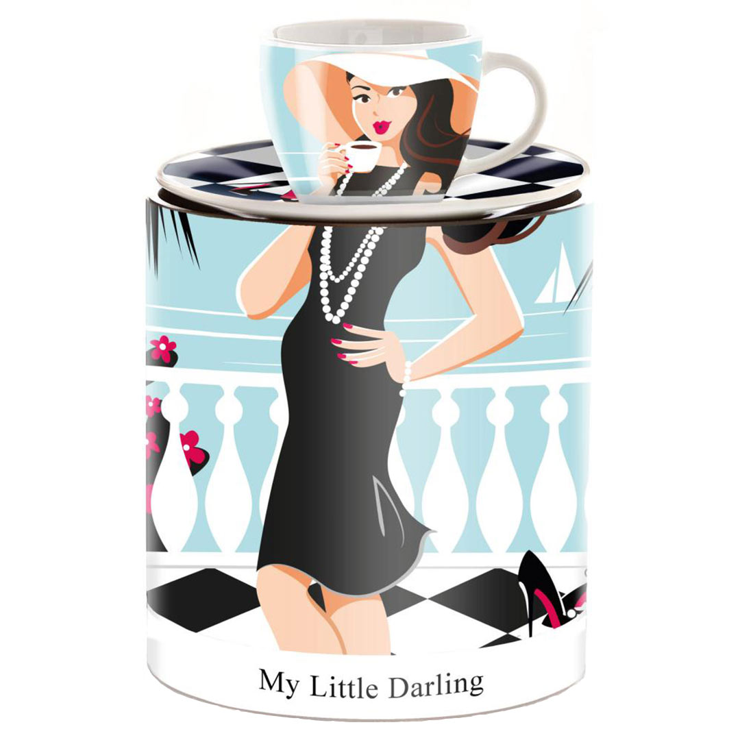 Ritzenhoff MY LITTLE DARLING espresso cup design Astrid Müller | the design gift shop