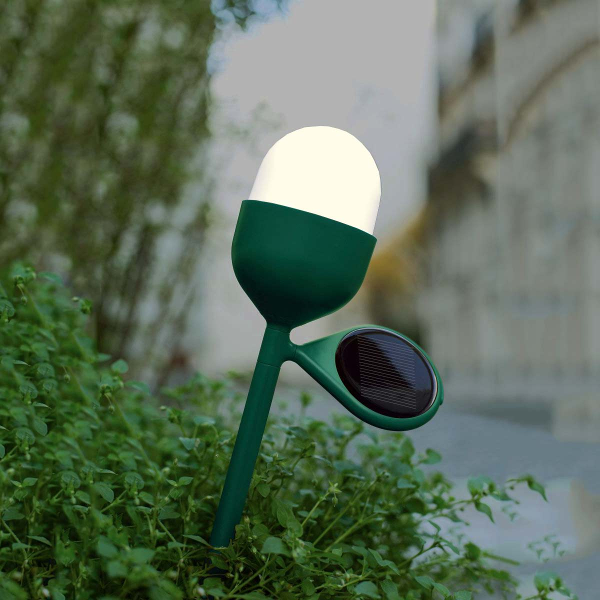 LEXON LH45 Clover Garden Light - Green | the design gift shop