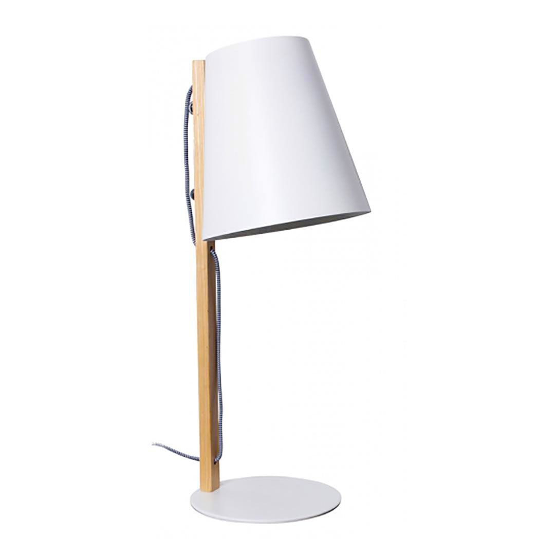 FROLIC white table light and bedside lamp | the design gift shop