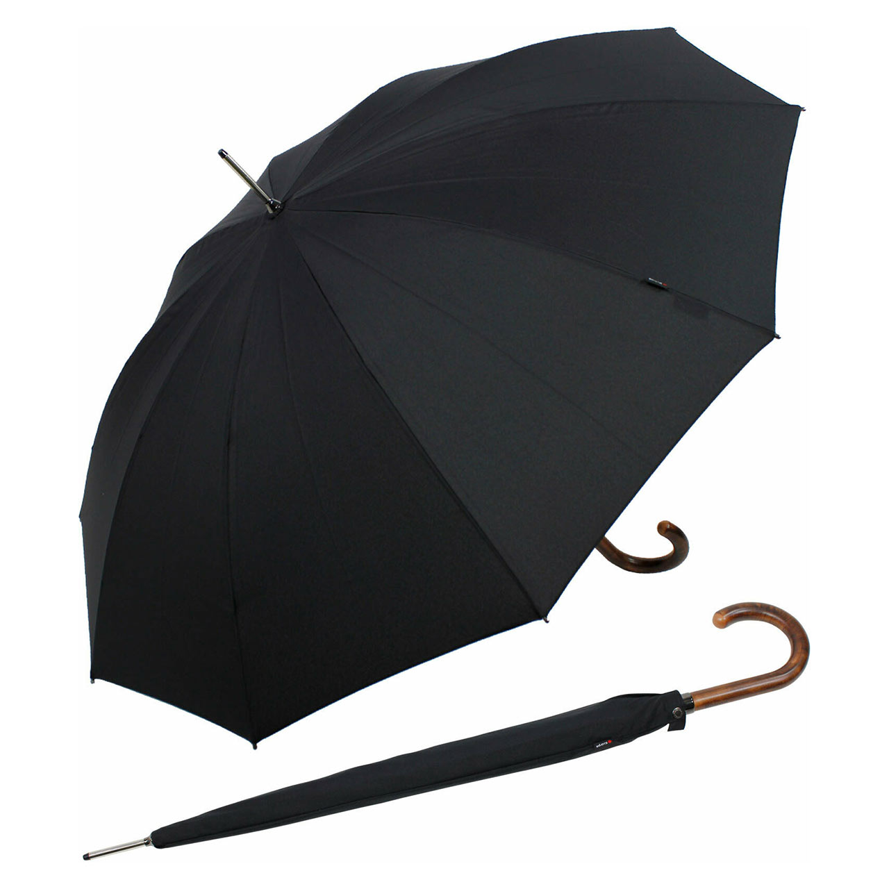 KNIRPS stick umbrella SL 923 Black   the design gift shop