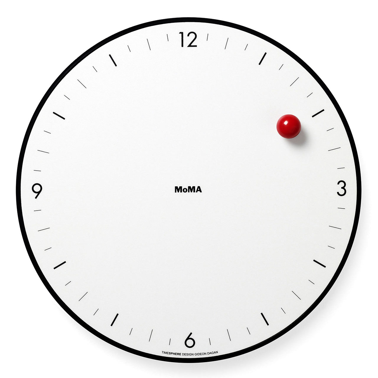 MoMA Timesphere wall clock | the design gift shop