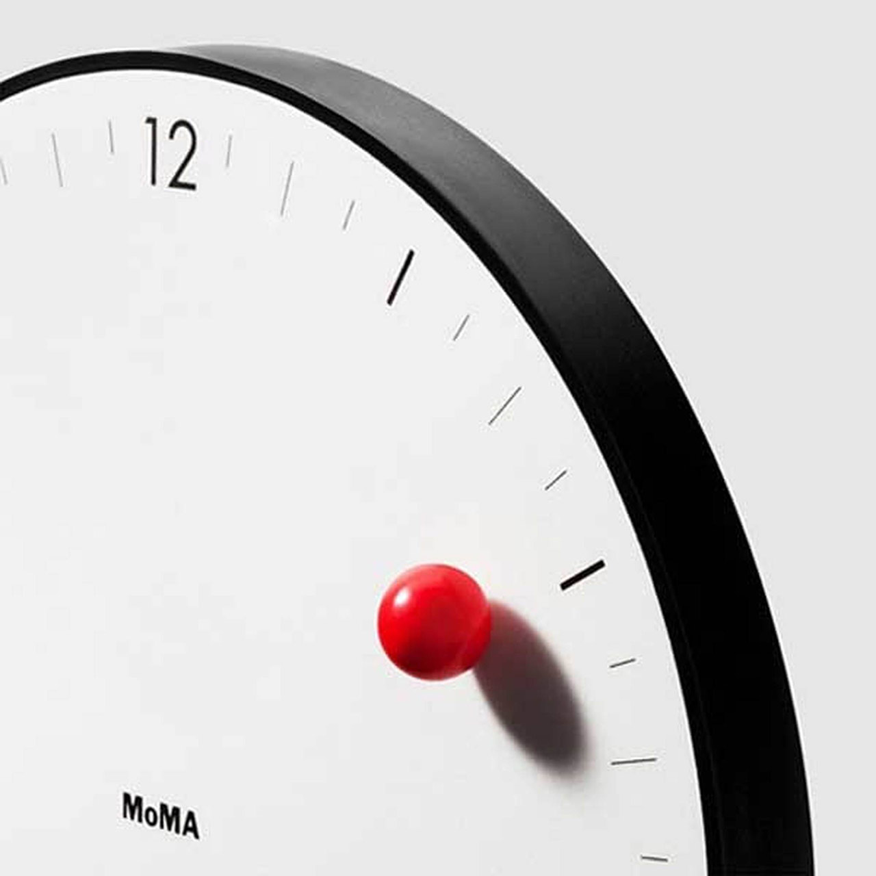MoMA Timesphere wall clock   the design gift shop