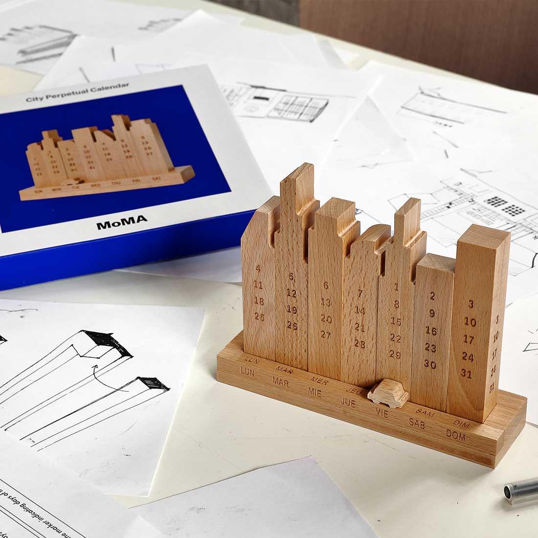 MoMA City Perpetual Calendar | the design gift shop