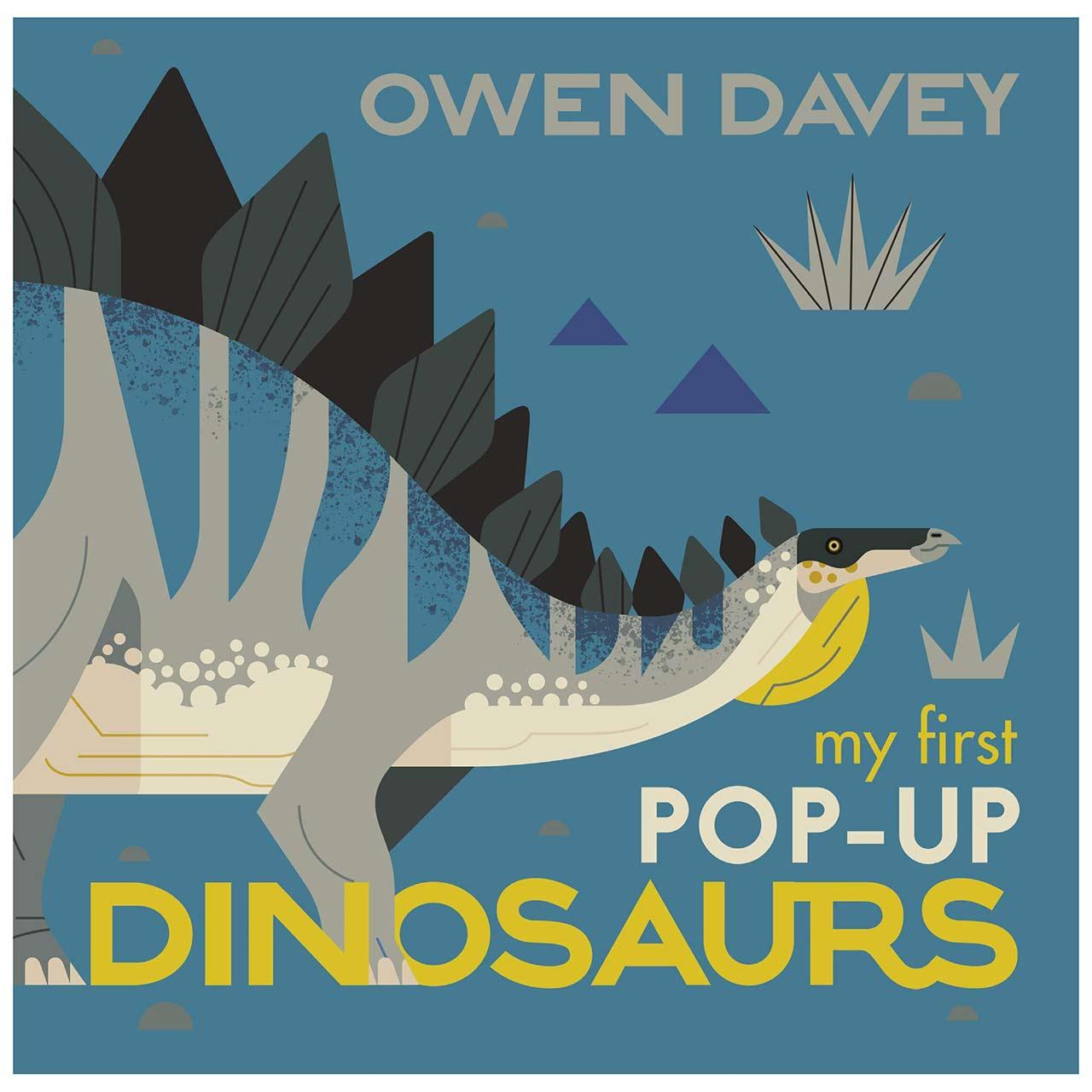 My First Pop-Up Dinosaurs Book by Owen Davey | the design gift shop