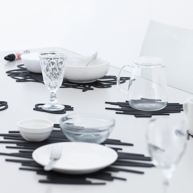 MoMA Scratch Coasters | the design gift shop