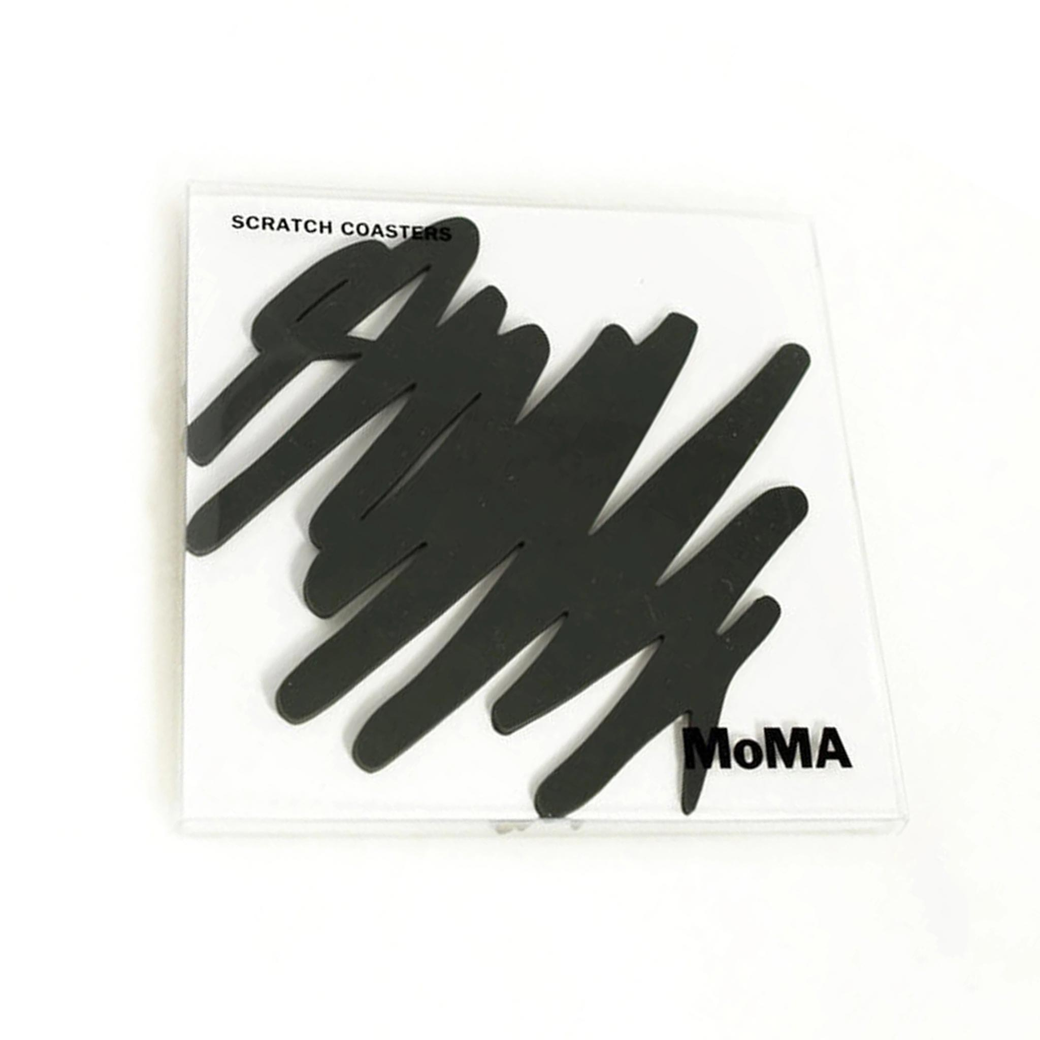 MoMA Scratch Coasters Set of 4 | the design gift shop