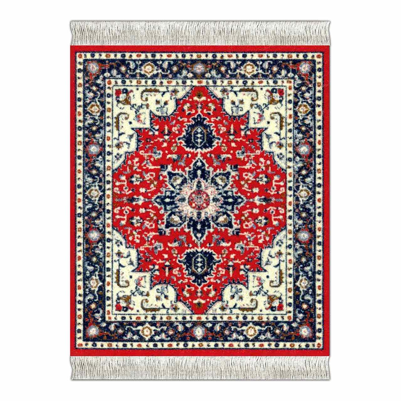 CoasterRug Tabriz Heriz Carpet Coaster | the design gift shop