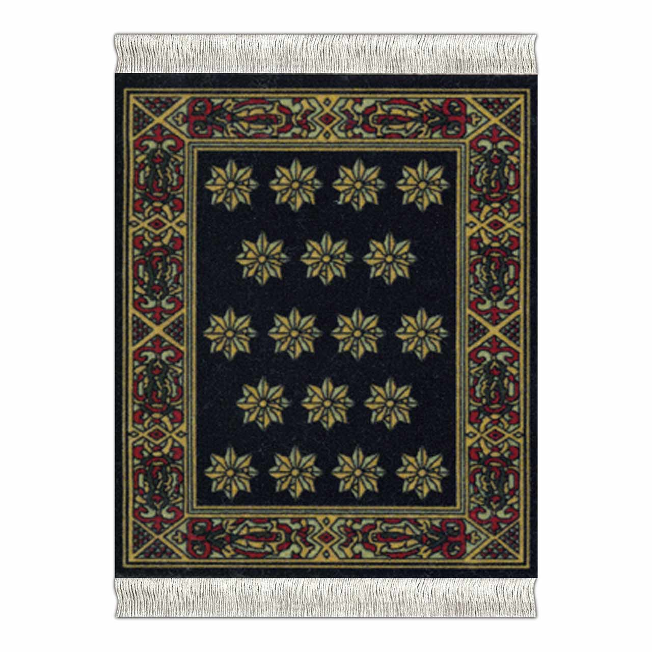 CoasterRug Carpet Coaster Country Heritage Stars  | the design gift shop
