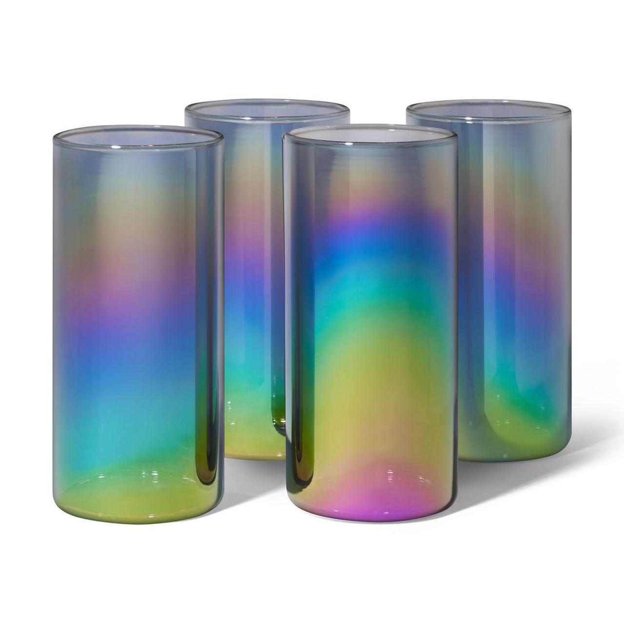 MoMA Shimmerware High Glasses Set of 4 | the design gift shop