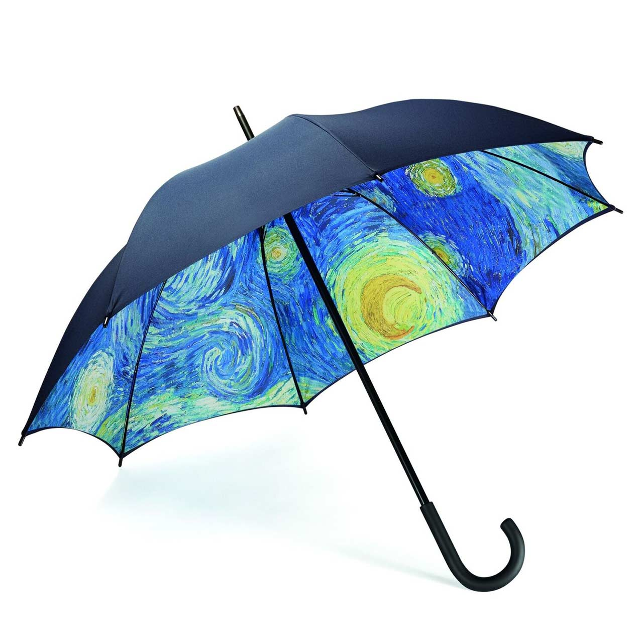 MoMa Starry Night Large Stick Umbrella | the design gift shop