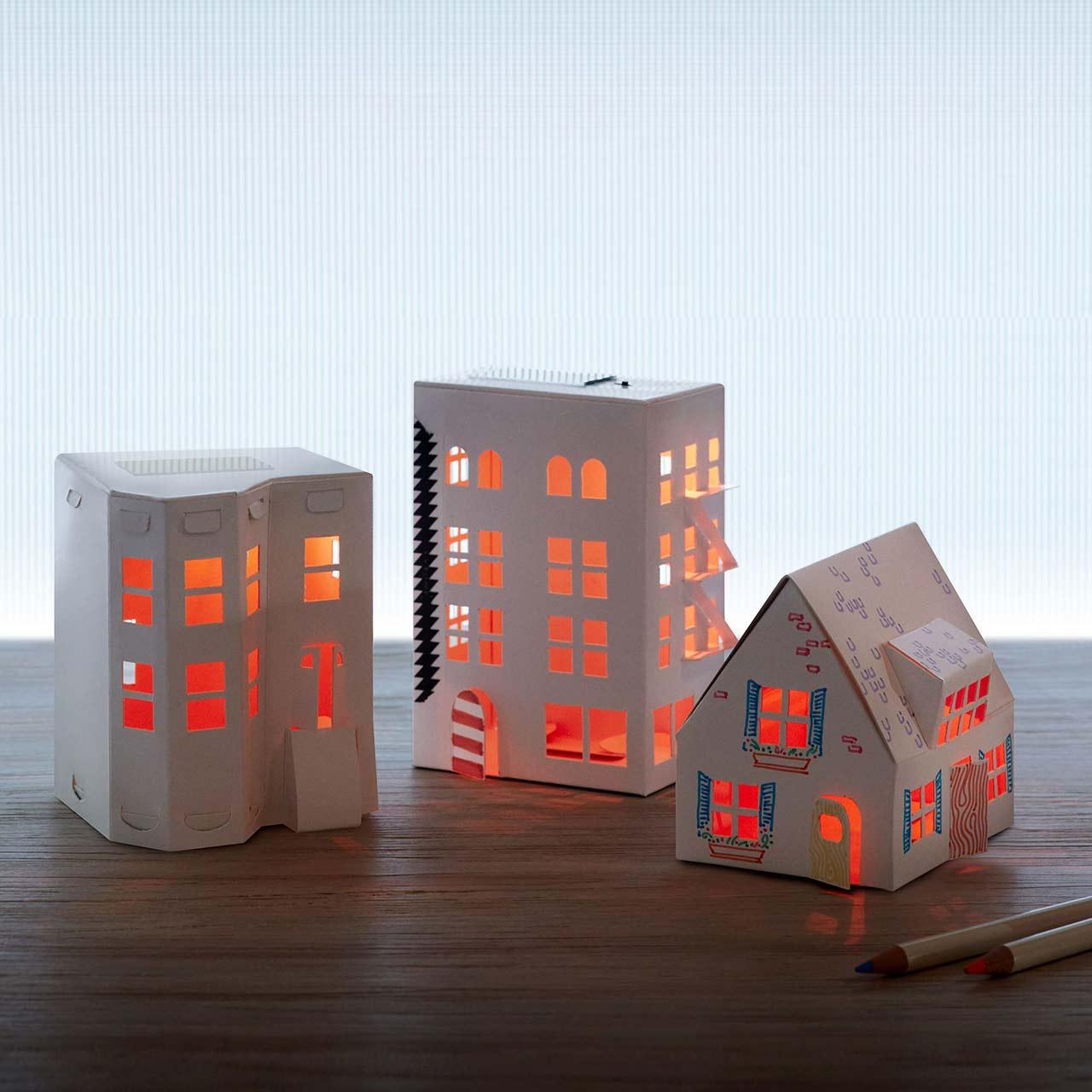 MoMA Casagami Solar Nightlight | the design gift shop